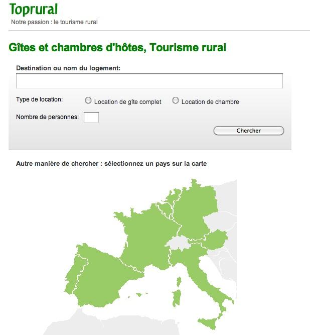 Homepage Toprural