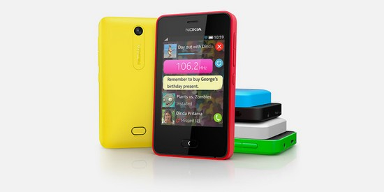 L'Asha 501 devrait être le premier smartphone d'une longue série.