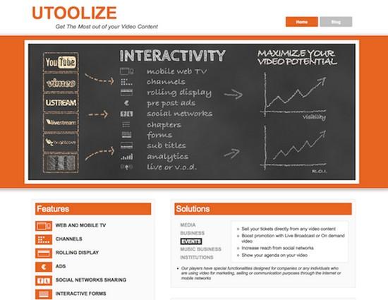 L'interface de Utoolize est très simple d'utilisation.