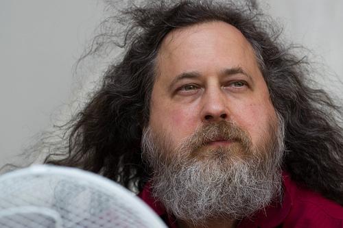 Richard Stallman. Photo: xtof via Flickr