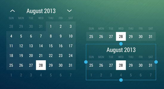 romannurik-calendar-widget