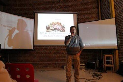 Jérémy Corman, coordinateur du Café numérique de Liège.