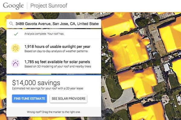 google-projectsunroof