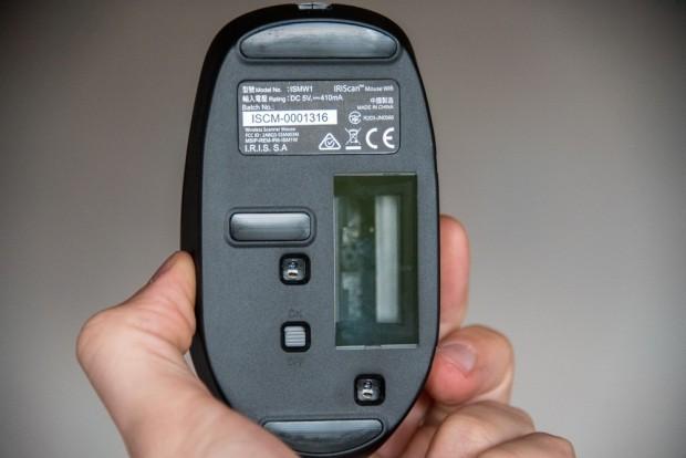 Le scanner a été conçu pour numériser des documents de petite taille. - crédit photo : E.F.