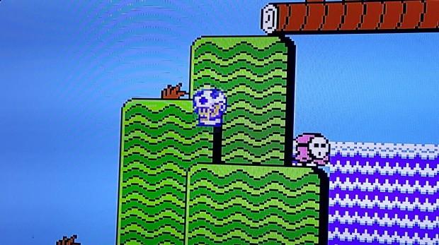 Mario est bien sûr le jeu incontournable de la sélection - Crédit photo : R.L.