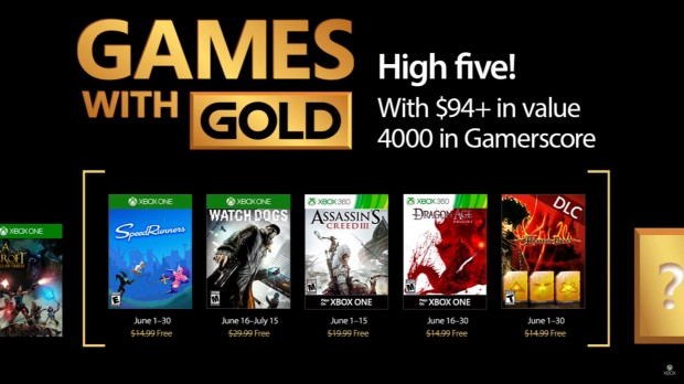 games with gold june 2017
