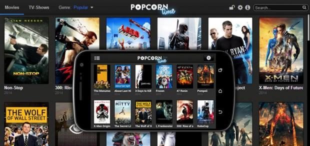 PopCorn Time est désormais disponible sur ordinateur, tablette et smartphone