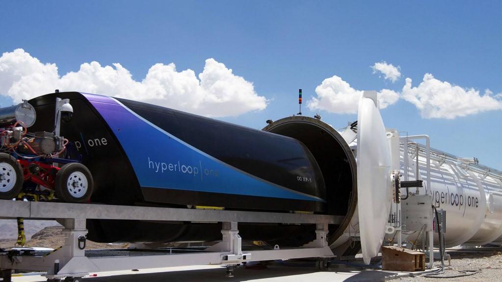 Crédit photo : Hyperloop One