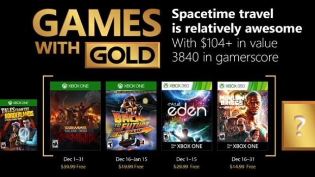 Games with gold décembre17