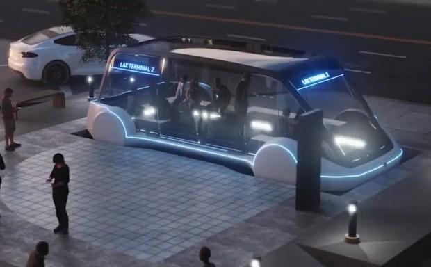 Elon Musk bus