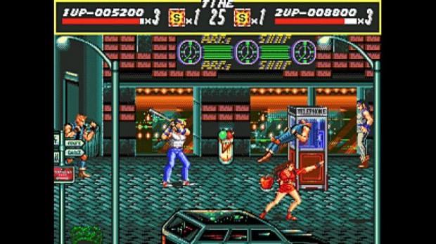 Sega Vintage Collection Streets of Rage