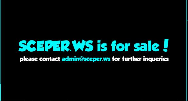 Le nom de domaine du site est désormais à vendre.