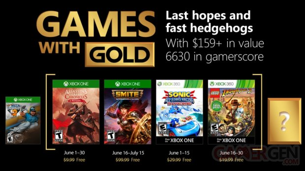 Games with gold juin18