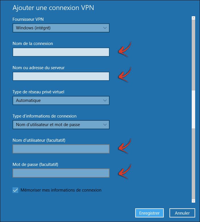 Configuration VPN