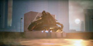 Speeder, la première moto volante
