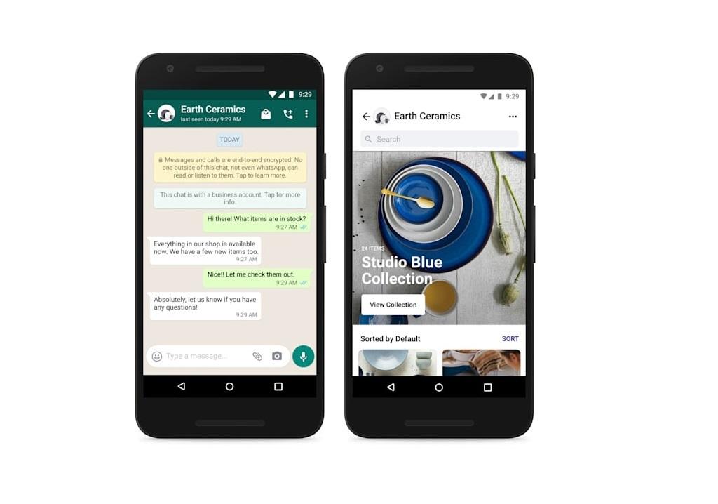 Les boutiques Facebook bientôt intégrées à WhatsApp